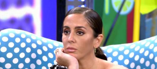 Anabel Pantoja se mostraba fría después del directo con Kiko (Telecinco)