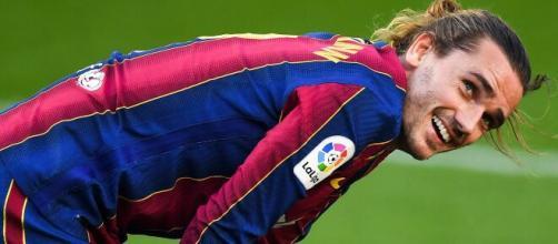 Antoine Griezmann, punta del Barcellona.
