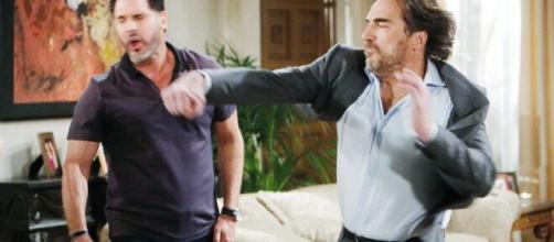Beautiful, spoiler al 26 giugno: Ridge rifla un pugno a Bill, Brooke viene umiliata.