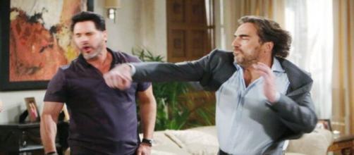 Beautiful, trame al 26 giugno: Ridge sferra un pugno a Bill e dice a Brooke che è finita.