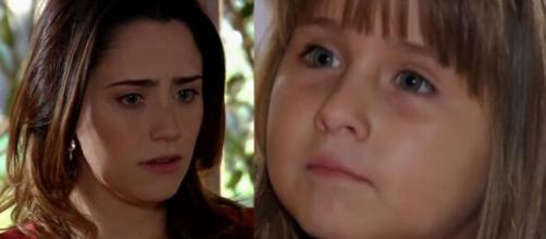 Júlia detona Ana em 'A Vida da Gente' (Fotomontagem/Reprodução/TV Globo)