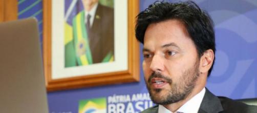Ministro Fabio Faria fez críticas à imprensa internacional (Cleverson Oliveira/Mcom)