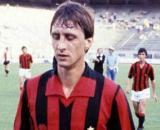 Johan Cruyff con la maglia del Milan al Mundialito Clubs 1981.
