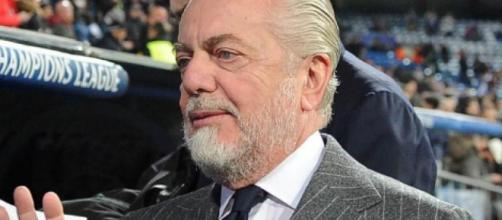 Aurelio De Laurentiis, presidente del Napoli.