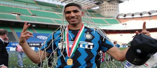 Inter, il Chelsea sarebbe in pole per Hakimi.