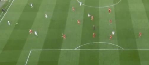 Le troisième but du Portugal fait le bonheur des fans. (images captures Twitter Portugal-Hongrie)