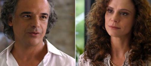 Marcos e Dora vivem dilema em 'A Vida da Gente' (Fotomontagem/Reprodução/TV Globo)