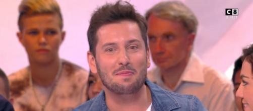 Maxime Gueny, chroniqueur de l'émission TPMP. Source : capture d'écran C8