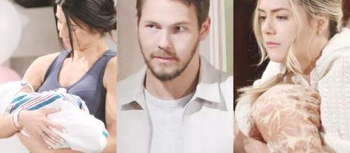Beautiful, trame americane: Justin è il colpevole della morte di Vinny e sequestra Thomas.