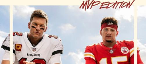 Brady and Mahomes on the cover of Madden 22 (Image Source: EASports)