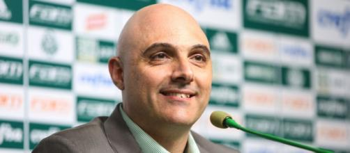 Galiotte explica procura do Palmeiras por reforços e detalha finanças (Fabio Menotti/Ag. Palmeiras)