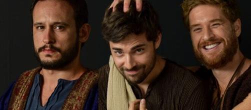 Isaque, Esaú e Jacó viverão novo drama familiar em 'Gênesis' (Divulgação/Record TV)