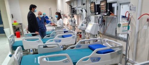 La familia de la abuela y su nieto fallecidos por coronavirus se han mostrado consternados (Twitter @HospitalesBAP)