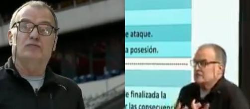 Marcelo Bielsa très rigoureux sur les profils qu'il veut - Source : capture vidéo Aspire, Twitter)