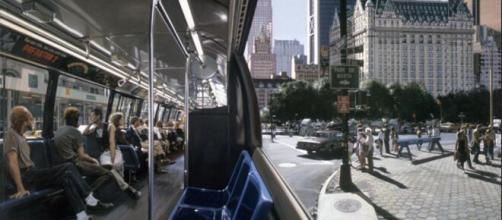 Richard Estes - The Plaza [1991] [Image Source: Gandalf's Gallery/Flickr]