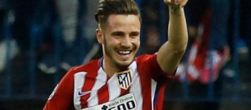 Saul, centrocampista dell'Atletico Madrid.