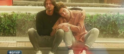 Tommaso Zorzi e Francesco Oppini: l'amicizia potrebbe essere al capolinea.