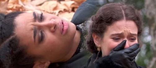 Una vita, trame spagnole: Salmeron uccide Marcia, il corpo viene ritrovato da Cesareo.