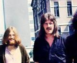 Led Zeppelin a Milano nel 1971 prima del concerto del Vigorelli