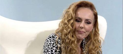 Rocío Carrasco en su último reportaje en Telecinco. (Telecinco)