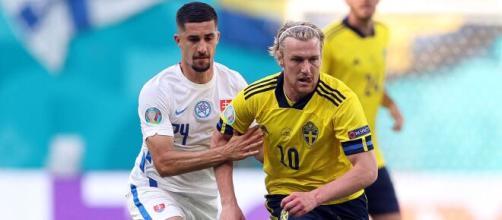 Suecia a punto de liderar su grupo. (Foto: @EURO2020)