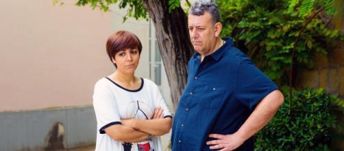 Un posto al sole, Mariella (Antonella Prisco) e Guido (Germano Bellavia).
