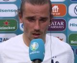 Griezmann n'a pas convaincu par ses excuses après France-Hongrie. (images TF1)