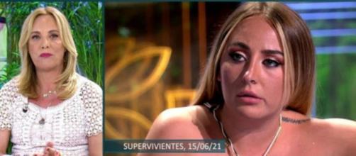 Belén Rodríguez reacciona al ataque de Rocío Flores para que la despidan de Televisión - (Telecinco)