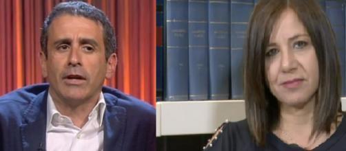 Denise Pipitone: Piera Maggio, a destra, furiosa con Carmelo Abbate.