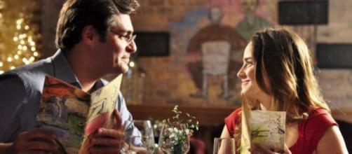 Lúcio e Ana em 'A Vida da Gente'. (Foto: Globo).