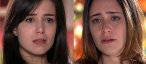 Manuela e Ana em 'A Vida da Gente'. (Foto: Globo).