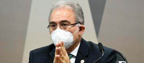 Marcelo Queiroga está preocupado com sua situação na CPI da Covid (Jefferson Rudy/Agência Senado)