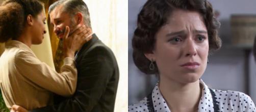 Una vita, trame al 26/06: Marcia bacia Felipe e scopre l'alleanza tra Santiago e Genoveva.