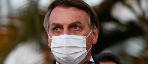 """Bolsonaro ofende âncora da CNN Brasil chamando-a de """"quadrúpede"""" (Alan Santos/PR)"""