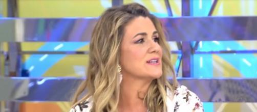 Carlota Corredera aprovecha su posición para molestar a Kiko Matamoros - (Telecinco)