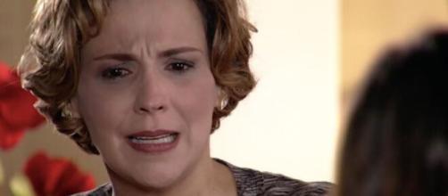 Eva é confrontada em 'A Vida da Gente'. (Reprodução/TV Globo)
