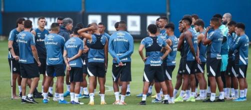 Grêmio terá pelo menos 10 desfalques para o jogo (Lucas Uebel/Grêmio)