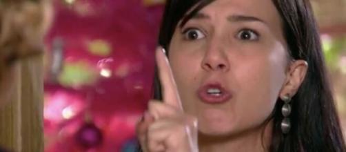Manu dispara contra Eva em 'A Vida da Gente' (Reprodução/TV Globo)
