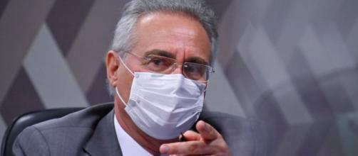Senador Renan Calheiros critica Copa América no Brasil (Leopoldo Silva/Agência Senado)