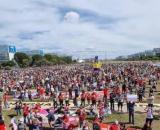 Protestos contra o presidente Bolsonaro reuniram milhares de pessoas em todo o País neste sábado (19) (Arquivo Blasting News)