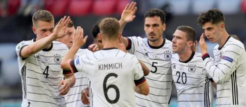 Alemania mejoró mucho respecto al partido de Francia (@DeporteslaSexta)