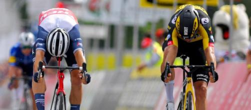 La volata vincente di Wout Van Aert al Campionato del Belgio