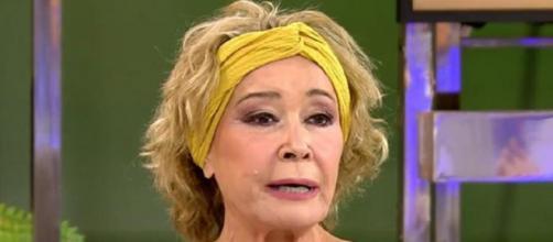 Mila Ximénez, en una entrevista en Sálvame. (Telecinco)