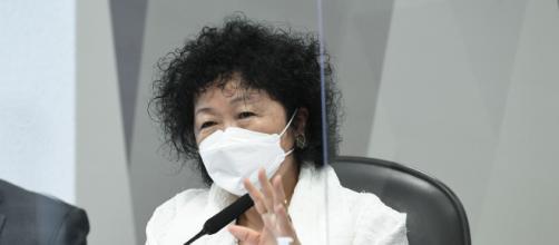 Nise Yamaguchi processa senadores da CPI da Covid (Jefferson Rudy/Agência Senado)
