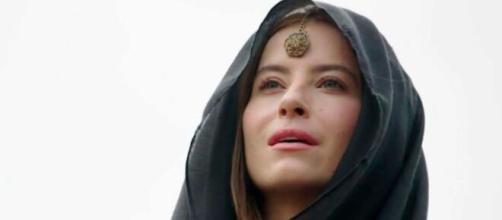 Rebeca gera preocupação em 'Gênesis' (Reprodução/Record TV)