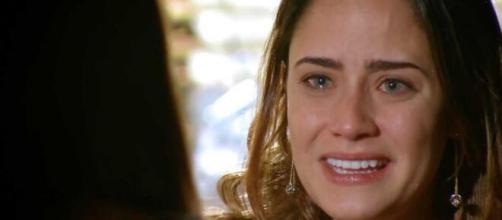 Ana ficará cheia de felicidade em 'A Vida da Gente' (Reprodução/TV Globo)