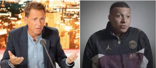 Daniel Riolo a fait des confessions concernant l'avenir de Kylian Mbappé - Photo vidéo Youtube Riolo/Mbappé