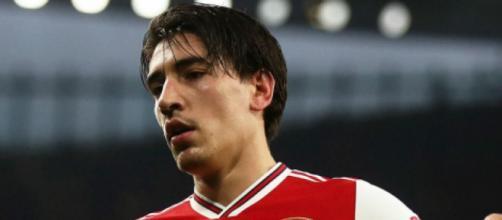 Hector Bellerin, terzino dell'Arsenal.