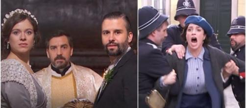 Una vita, spoiler al 3/07: Maite arrestata, Felipe e Genoveva riescono a sposarsi.