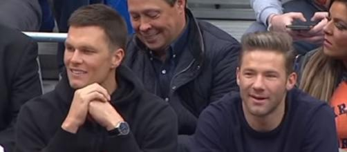 Brady and Edelman became close friends during their stint with Patriots (Image source: ESPN/YouTube)
